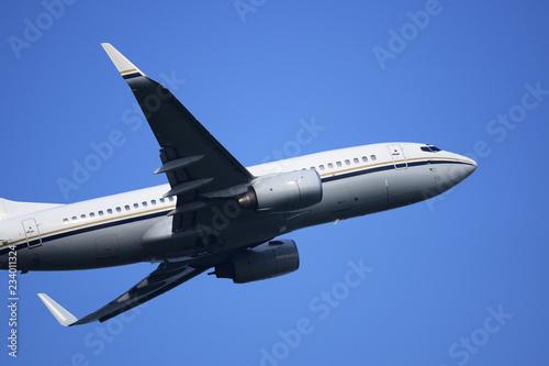 Fotografia  旅客機 B737 離陸