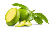 Fresh Green Mango Called ''Man...