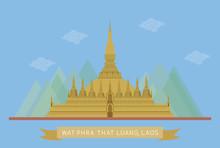 Wat Phra That Luang, Laos