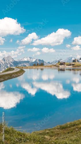 Smartphone HD wallpaper of beautiful alpine landscape at Leogang - Salzburg - Austria