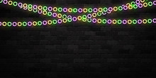 Vector Realistic Isolated Neon...