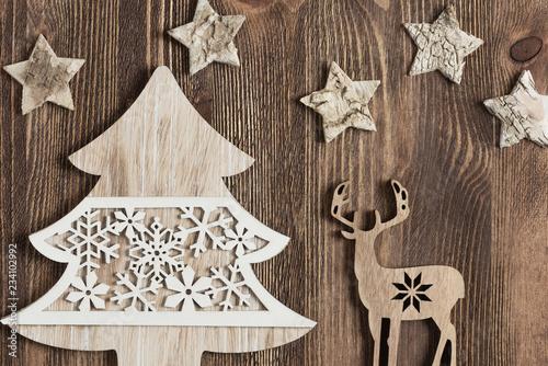 Boże Narodzenie, tło świąteczne Slika na platnu