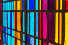 Multicolored Stained Glass Win...
