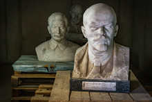 Lenin And Stalin Statues, Buda...