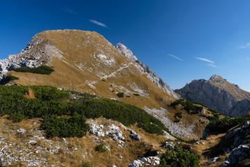Mali Draski vrh mountain in autumn in Slovenia