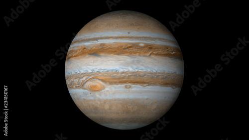 Fotografia planet jupiter solar system
