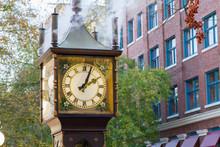 Steam Clock In Vancouver Canada
