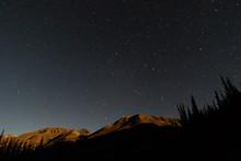 Lunar Alpenglow Above The San Juan Mountains In Colorado