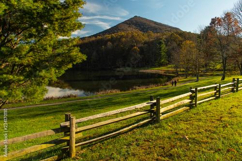 Evening walk along Abbott Lake