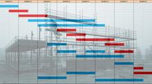 Time Chart Gantt Diagram Over...
