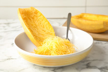 Cooked Spaghetti Squash And Fo...