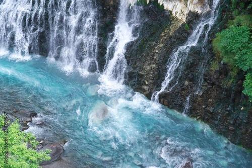 Recess Fitting Waterfalls 美瑛の白髭の滝