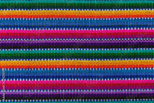 The Guatemalan Textiles Canvas Print