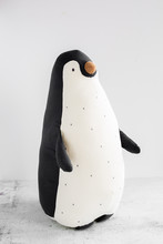Black And White Plush Penguin