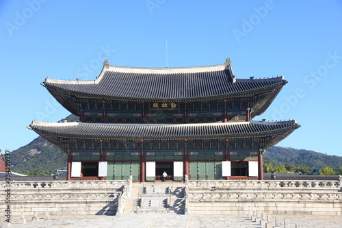 Photo  Gyeongbokgung Palace in Seoul, South Korea