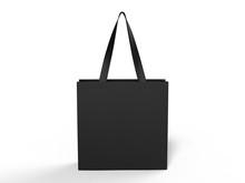 Blank Promotional Tote Bag For Branding. 3d Rendering Illustration.