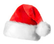 Santa Claus red hat isolated