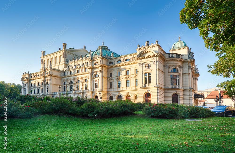 Fototapety, obrazy: Teatr Juliusza Słowackiego w Krakowie