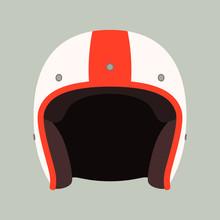 Classic Helmet Motorcyclist, V...