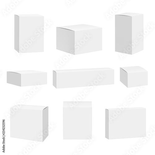 Foto Blank white box