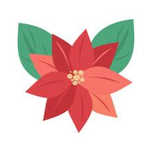 Cute Cartoon Christmas Flower ...