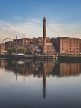 Liverpool Waterfront And Docks