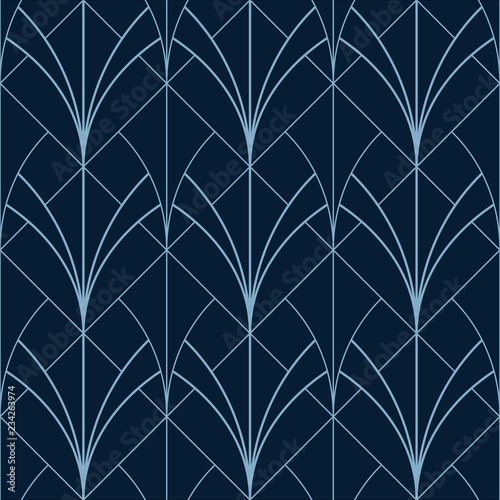 simple seamless art deco geometric 9