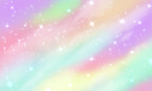 Rainbow Unicorn Background. Me...