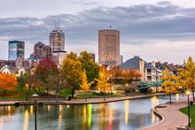 Indianapolis, Indiana, USA Dow...