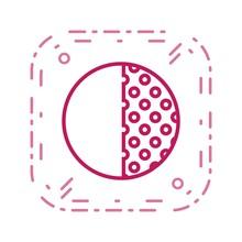 Last Quarter Vector Icon