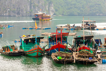 Floating Fishing Village And F...