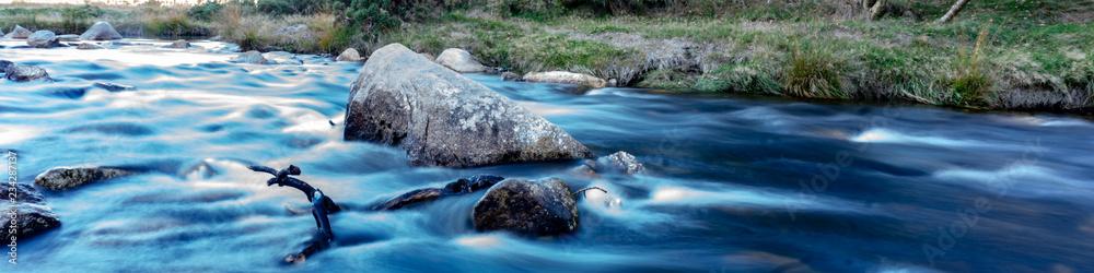 Fototapeta Mountain stream during autumn