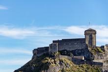 The Castle Fort Sits Atop A Hi...