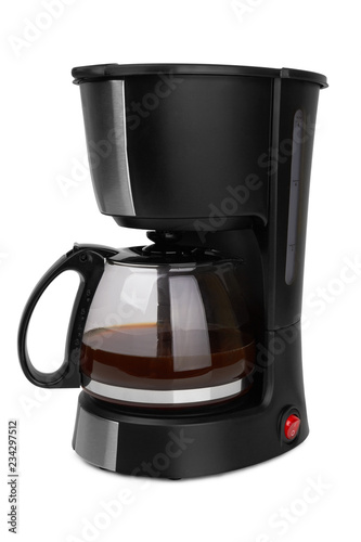 Valokuvatapetti Coffee maker isolated