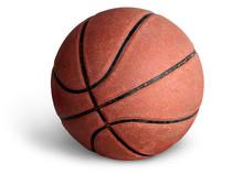 Old Basketball Ball