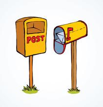 Mailbox. Vector Drawing