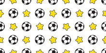 Soccer Ball Seamless Pattern V...
