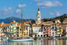 Dock Of Imperia In Liguria