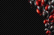 Festive Background With Black ...