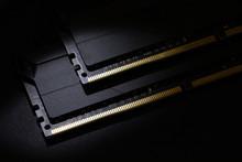 Close-up Of Computer RAM (Rand...