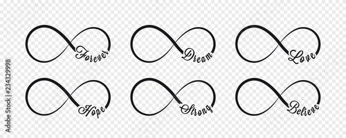 Photographie Infinity symbols