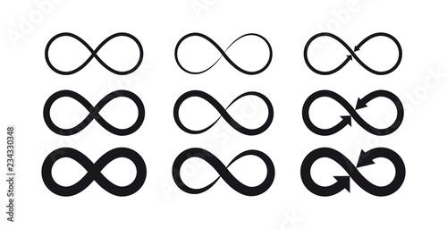 Photo Infinity symbols