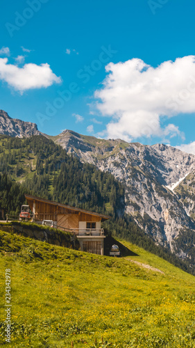 Smartphone HD wallpaper of beautiful alpine view at the Achensee - Tyrol - Austria #234342978