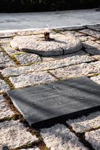 John F Kennedy Eternal Flame At Arlington National Cemetery