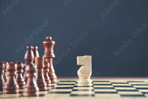 Photographie  chess in board