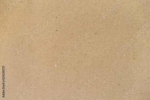 Texture of old cardboard, paper, background for design with copy space Fotobehang