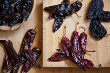 Numerous Chili Peppers