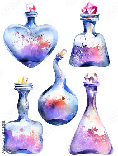 Fotografie, Obraz  Alchemical magic bottle