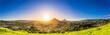 canvas print picture Panoramic View of San Luis Obispo, CA