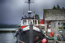 Worn Tugboat